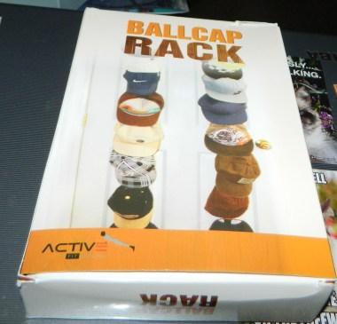ActiveFit Apparel Sports Ballcap Hat Rack Storage