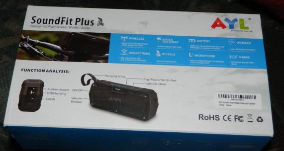 AYL Waterproof Outdoor Bluetooth Speaker