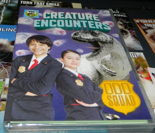 Odd Squad: Creature Encounters DVD