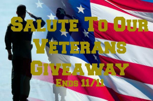 Salute To Our Veterans Giveaway