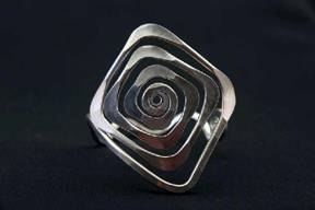 Diamond Spiral Bracelet