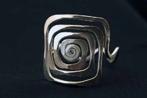 Square Spiral Bracelet