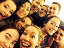 Group Selfie of 2014 IWW Cabaret of Monologues Actors