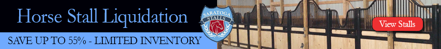 Horse Stall Liquidation Event - Ends Soon