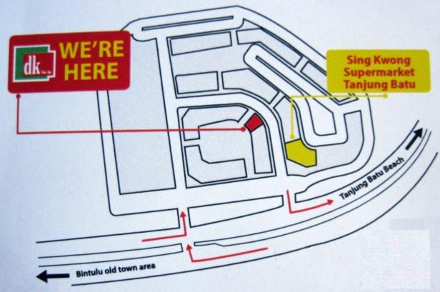 DK Value Inn Location Map