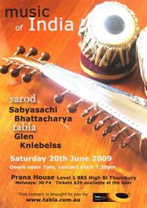 Sarod Concert Prana House