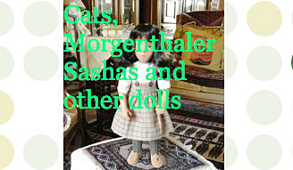 Cats, Morgenthaler Sashas and other dolls
