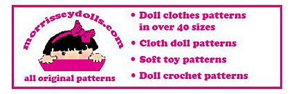 Morrissey Doll Patterns for Sasha
