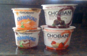 chobani yogurt cups