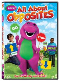 Barney All About Opposites