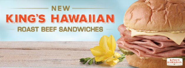 Arby's King Hawaiian