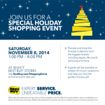 Best Buy Will Take The Stress Out Of Shopping #BBYShoppingEvent
