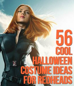 55 Cool Halloween Costume Ideas For Redheads - Scarlett Johansson is only one!