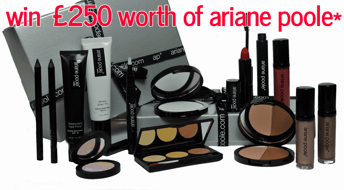 Giveaway: Win 250 Worth of Ariane Poole Makeup