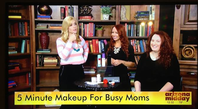 5 minute makeup busy moms sassy dove az midday