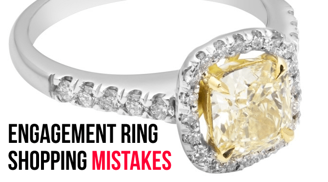 engagement ring mistakes