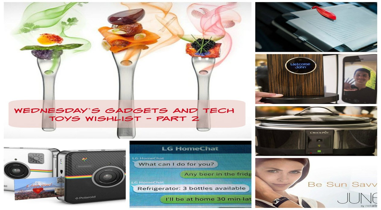 Wednesday's Gadgets and Tech Toys Wishlist - Part 2