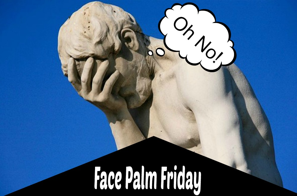 FacePalm Friday - Sassy Townhouse Living