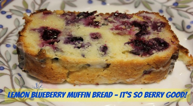 Lemon Blueberry Muffin Bread Recipe - Sassy Townhouse Living