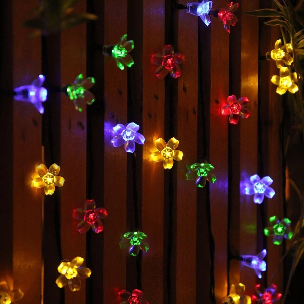 Flagrant Trees Outdoor Solar String Lights Kohls Solar Powered String Lights Outdoor Solar String Lights Jobelle Solar Fairy Blossom Lights How To Brighten Your Outdoor Space houzz-02 Outdoor Solar String Lights
