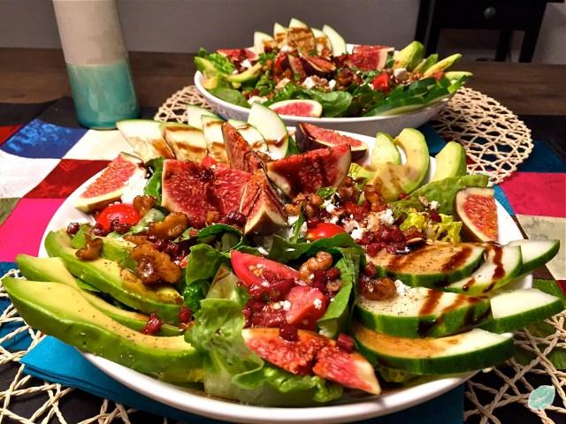 Feigen-Avocado-Salat