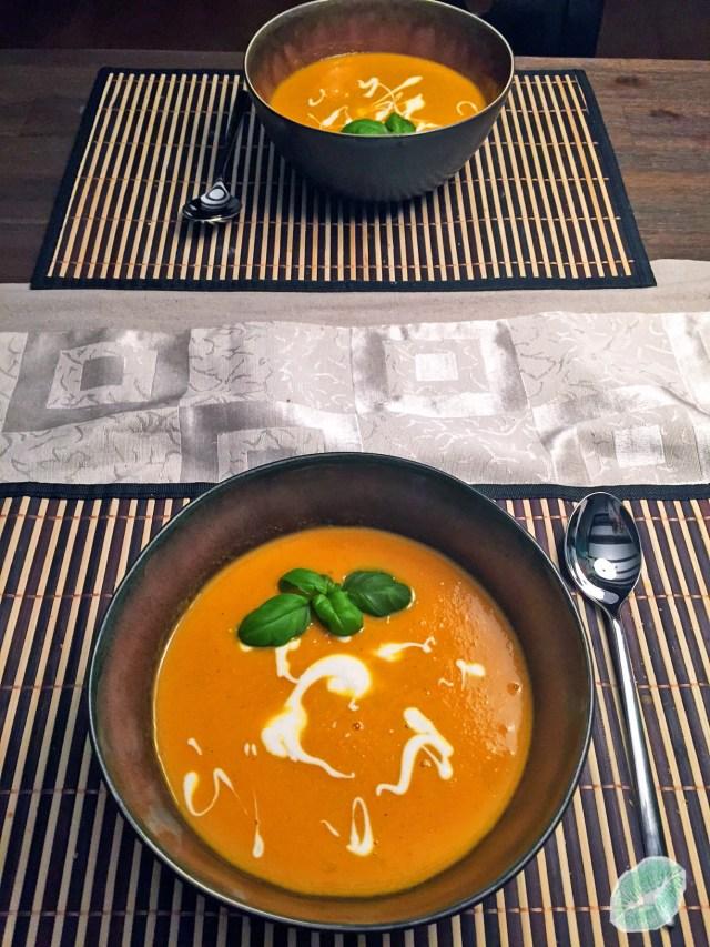 Karotten-Ingwer Suppe2