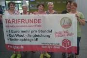 Kolleginnen von Piepenbrock aus dem nördlichsten Zipfel NRW's sagen Nein zur Blockadehaltung der Arbeitgeber.