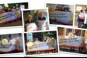 KollegInnen der Gebäudereinigung in Leipzig fordern gleiche Bezahlung in Ost & West
