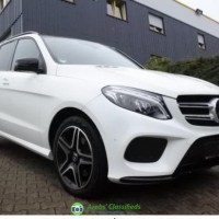 Mercedes Benz GLE 350d 4Matic 2017 model