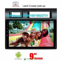 Toyota Land Cruiser Pick-up Car radio android GPS camera