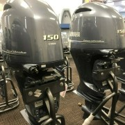Twin Yamaha 150hp Setup F150XCA LF150XCA 4 stroke Outboard Engines DriveByWire