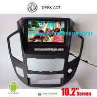 DFSK AX7 Car stereo audio radio android GPS navigation camera