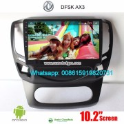 DFSK AX3 Car audio radio update android GPS navigation camera
