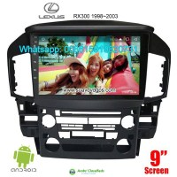 Lexus RX RX300 Car audio radio android GPS navigation camera