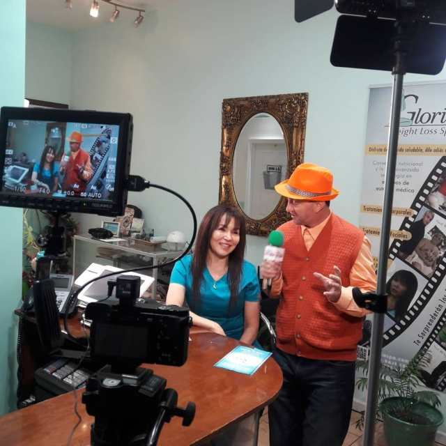 Grabando para Las tardes de Eliza Tv Read more
