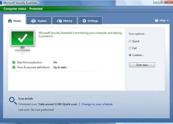 85 e1266574813329 Microsoft Security Essential   Free Virus Remover Tool from Microsoft Team