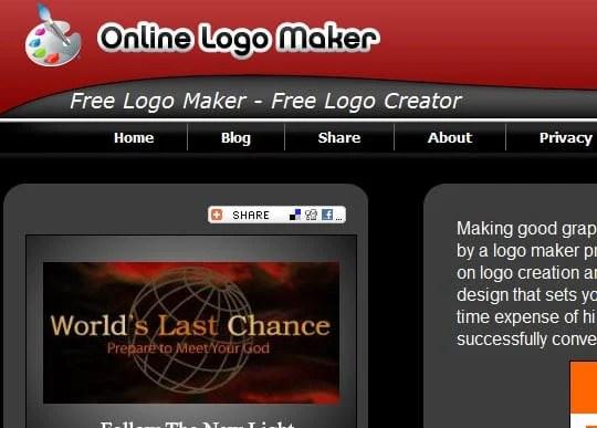 onlinelogomaker 9 Best Websites For Designing Your Logos Online For Free