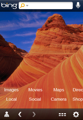 bing 42 Best And Free iOS 4 Apps For Your iPhone
