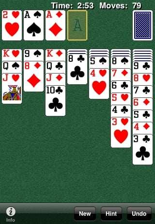 solitaire 42 Best And Free iOS 4 Apps For Your iPhone