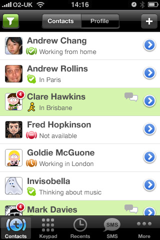 truephone 42 Best And Free iOS 4 Apps For Your iPhone