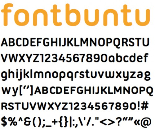 ubuntu title e1279955432136 25 High Quality And Creative Fonts For Free Download
