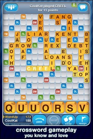 words with friends 42 Best And Free iOS 4 Apps For Your iPhone