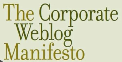 20TheCorporateWeblogManifesto 20 Best Free E books To Enhance Your Blogging Career