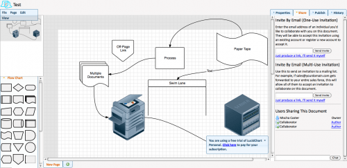 lucidchart e1283494756328 7 Collaborative Online Diagramming Tools to Draw any Diagram
