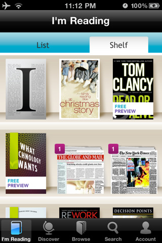 kobo Top 100 Best Free iPhone 4 Apps