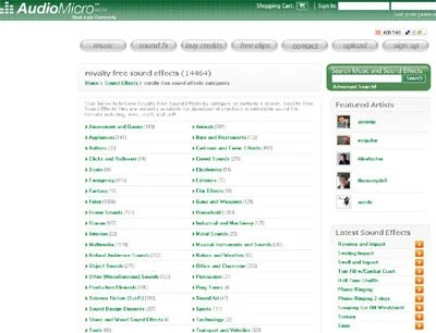 Audio Micro 50+ Best Sites To Download Free Sound Effects