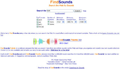 FindSounds 50+ Best Sites To Download Free Sound Effects