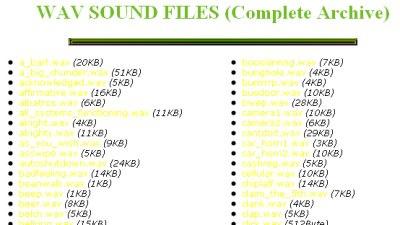 Wav Sound Files 50+ Best Sites To Download Free Sound Effects