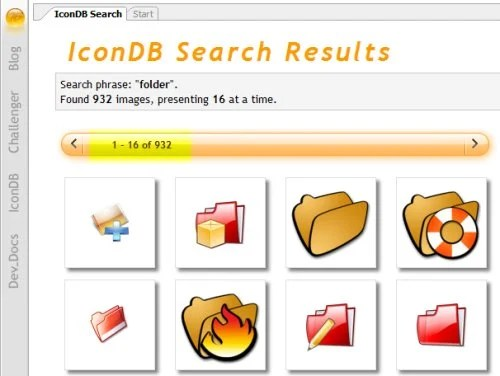 challenger 18 Great Icon Search Engines For Designers To Find High Quality Free Icons