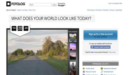 fotolog1 Best Photo Sharing Sites To Create Photography Portfolios